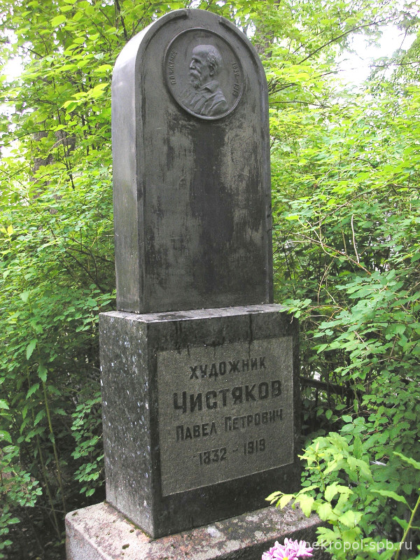 Image result for pavel chistyakov grave